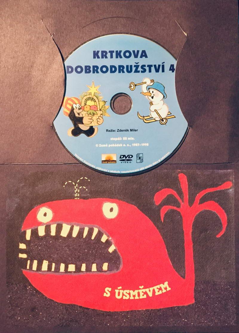 Krtkova dobrodružství 4 - DVD /dárkový obal/