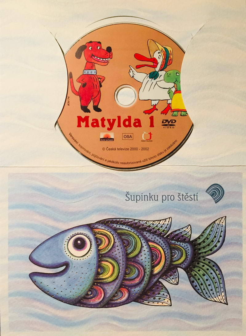 Matylda 1 - DVD /dárkový obal/