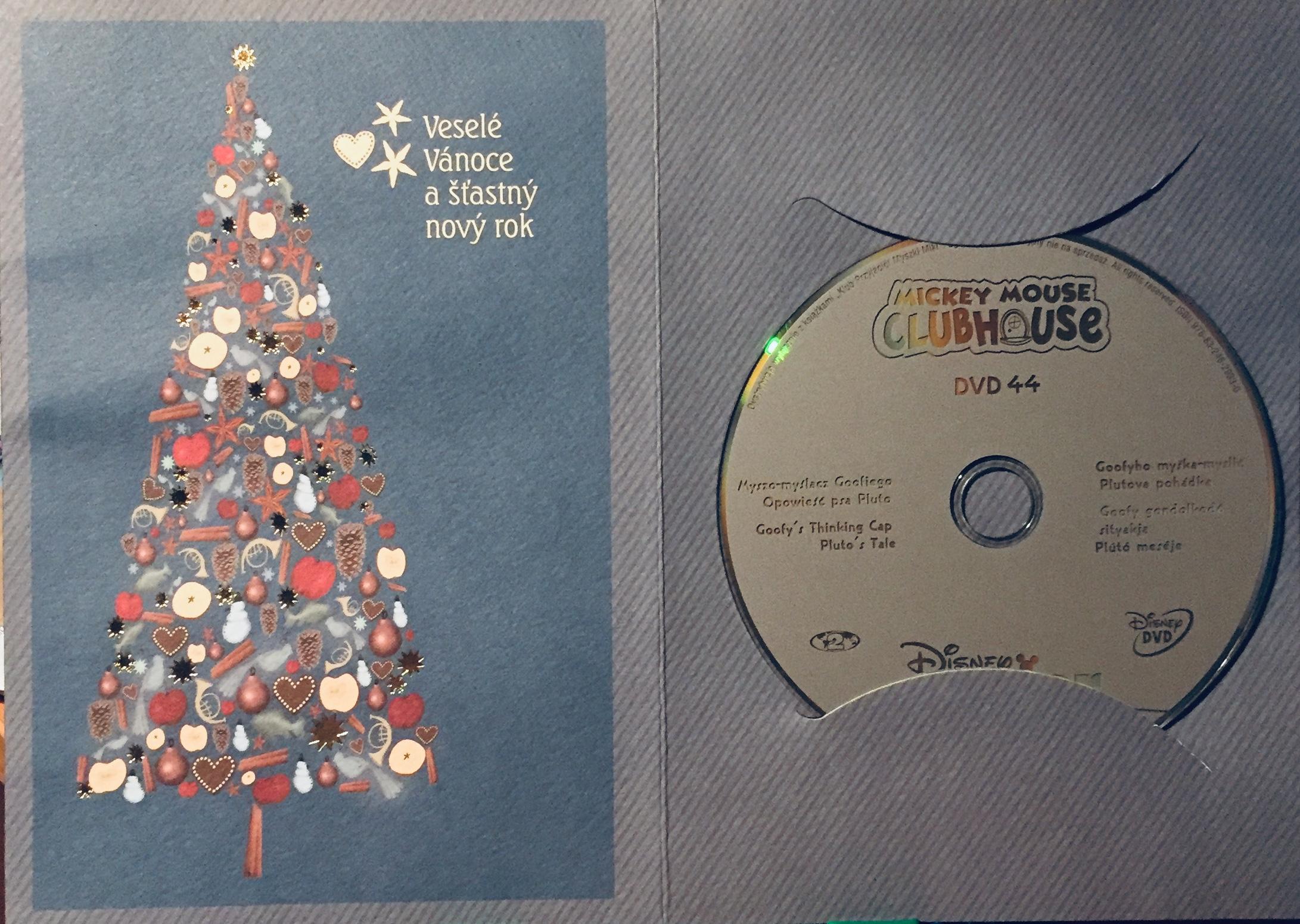 Mickeyho klubík 44 - DVD /dárkový obal/