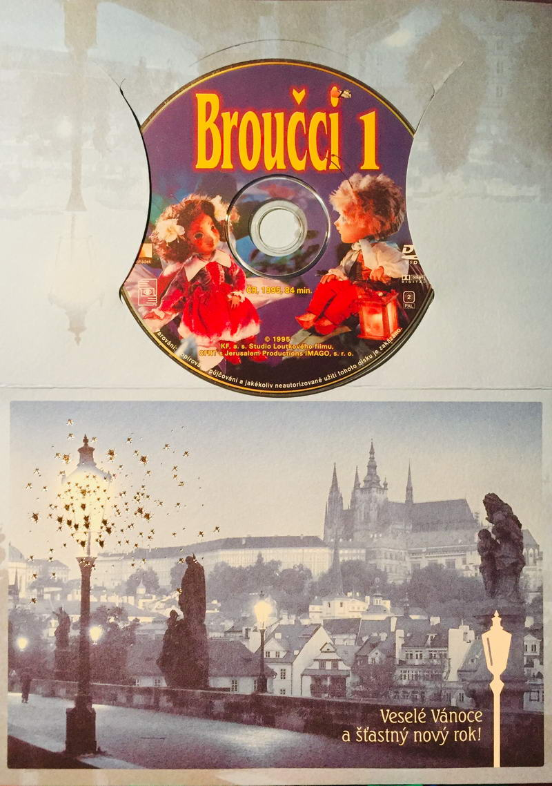 Broučci 1 - DVD /dárkový obal/