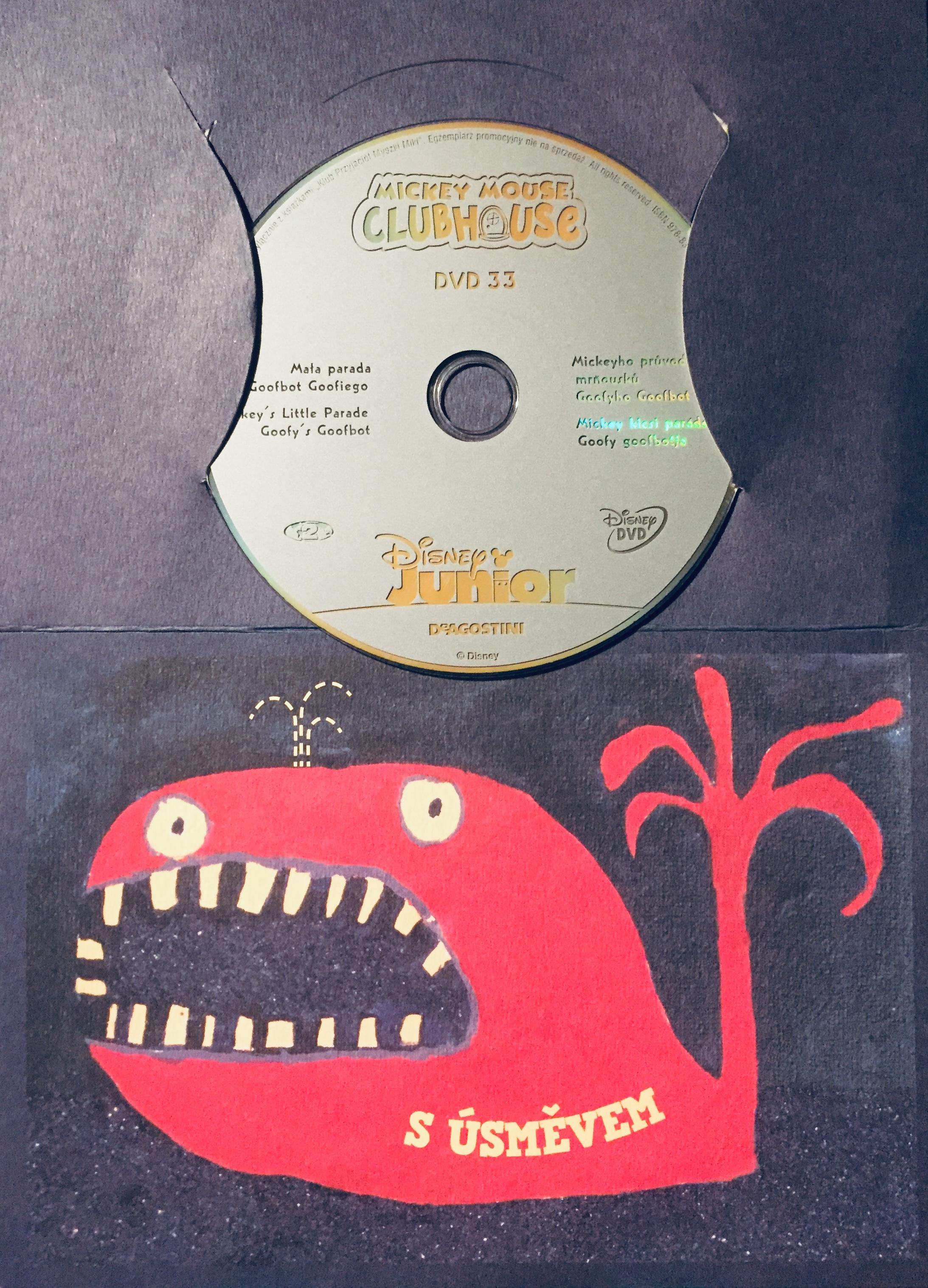Mickeyho klubík 33 - DVD /dárkový obal/