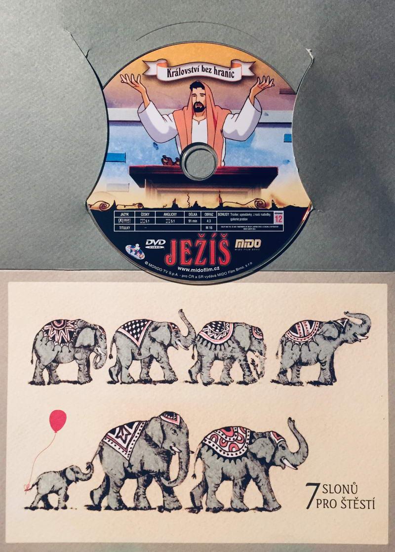 Ježíš - Království nebeské - DVD /dárkový obal/