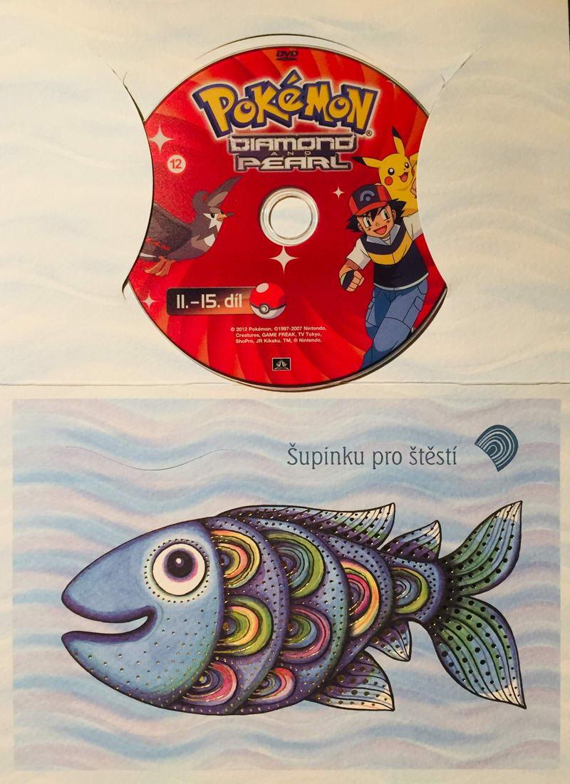 Pokémon - Diamond and Pearl 11.-15. díl - DVD /dárkový obal/