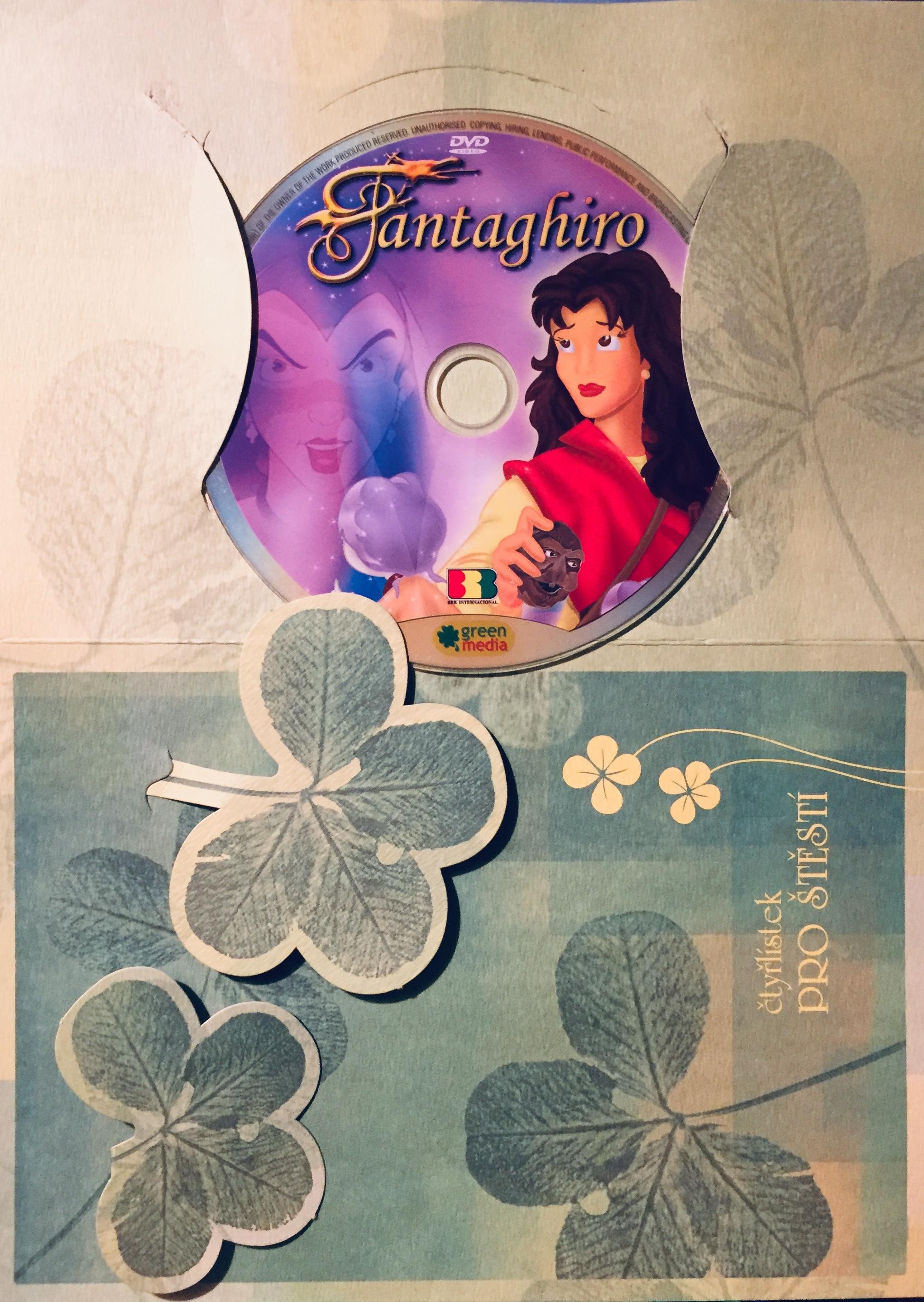 Fantaghiro - DVD /dárkový obal/
