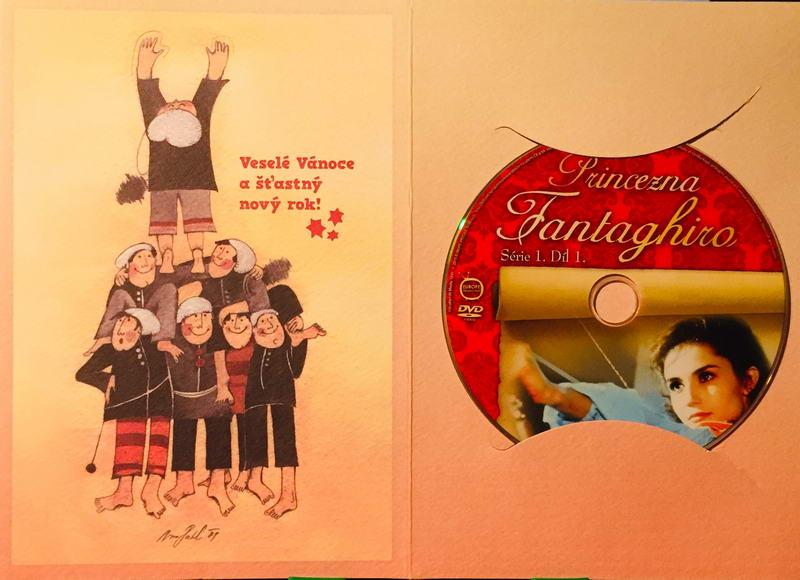 Princezna Fantaghiro - Jeskyně Zlaté růže - díl 1. - DVD /dárkový obal/