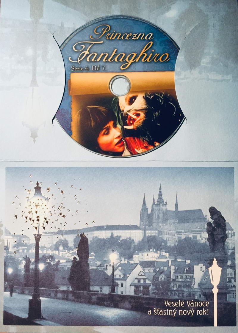 Princezna Fantaghiro - Jeskyně Zlaté růže - díl 7. - DVD /dárkový obal/