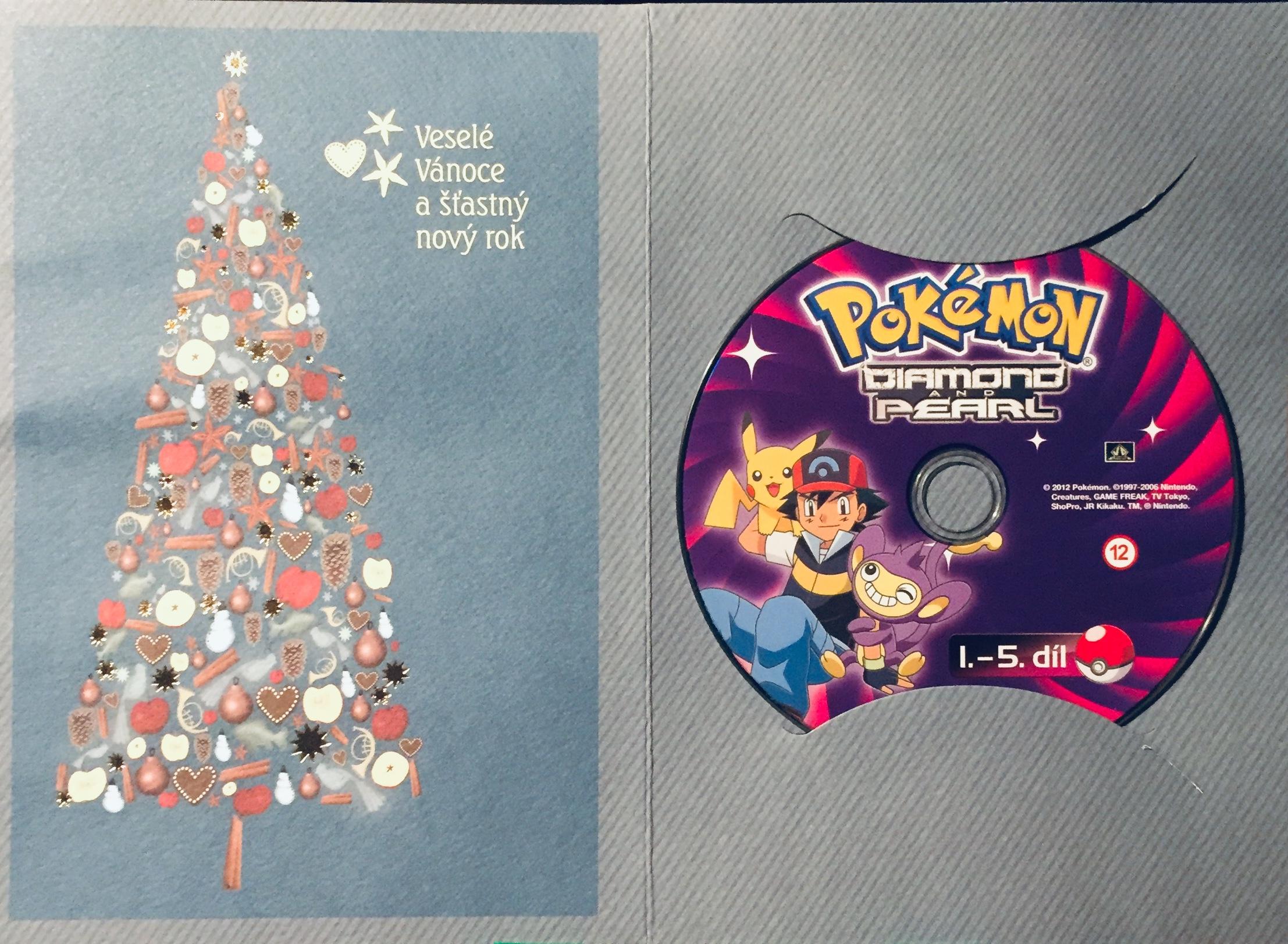 Pokémon - Diamond and Pearl 1.-5. díl - DVD /dárkový obal/