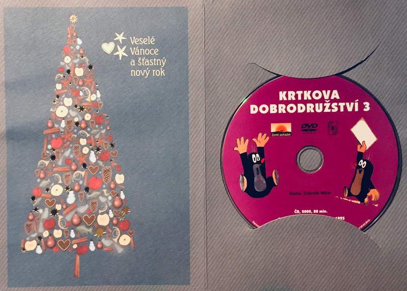 Krtkova dobrodružství 3 - DVD /dárkový obal/