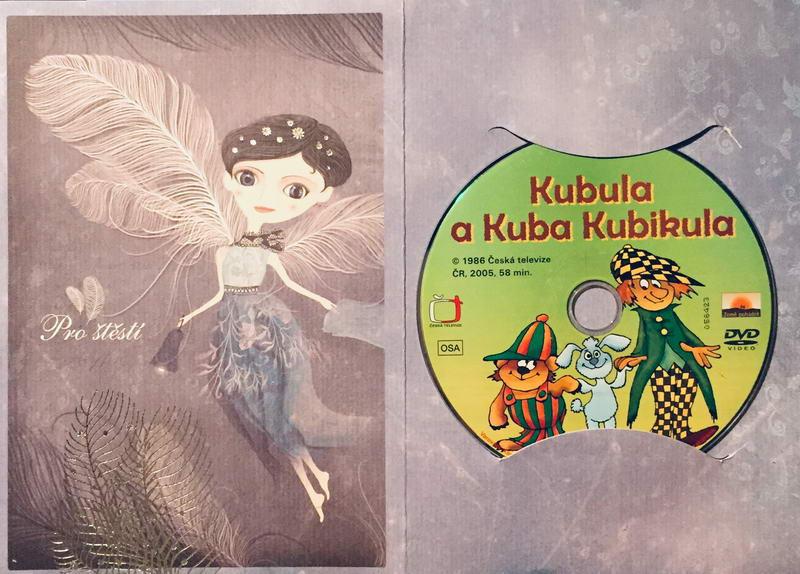 Kubula a Kuba Kubikula - DVD /dárkový obal/