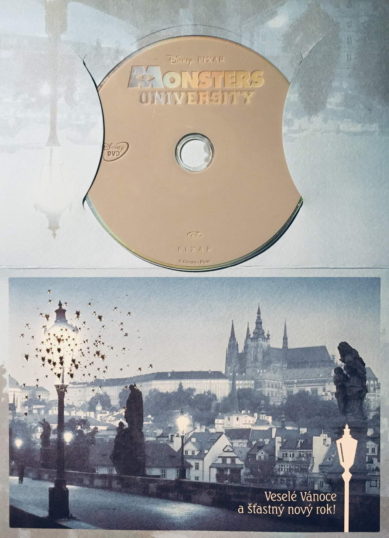 Univerzita pro příšerky - DVD /dárkový obal/