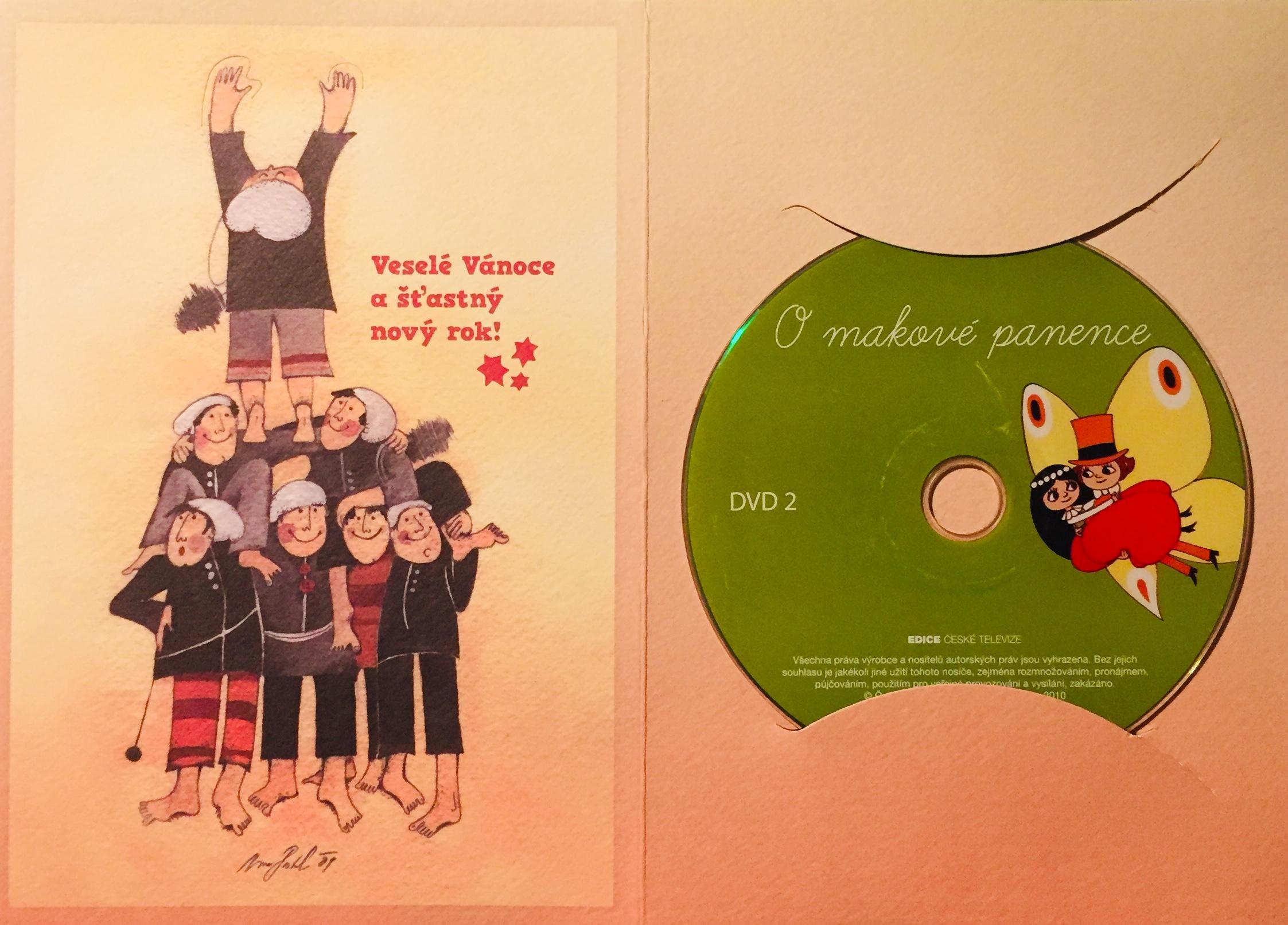 O makové panence 2 - DVD /dárkový obal/