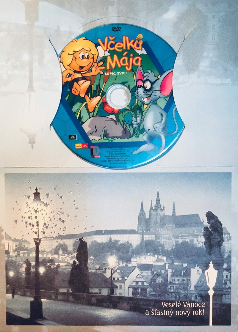 Včelka Mája - Lupič sýru - DVD /dárkový obal/