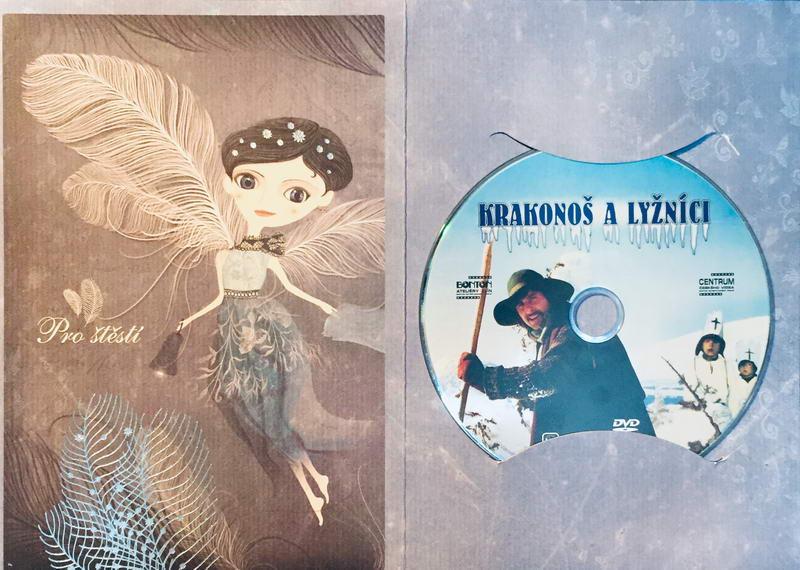 Krakonoš a lyžníci - DVD /dárkový obal/