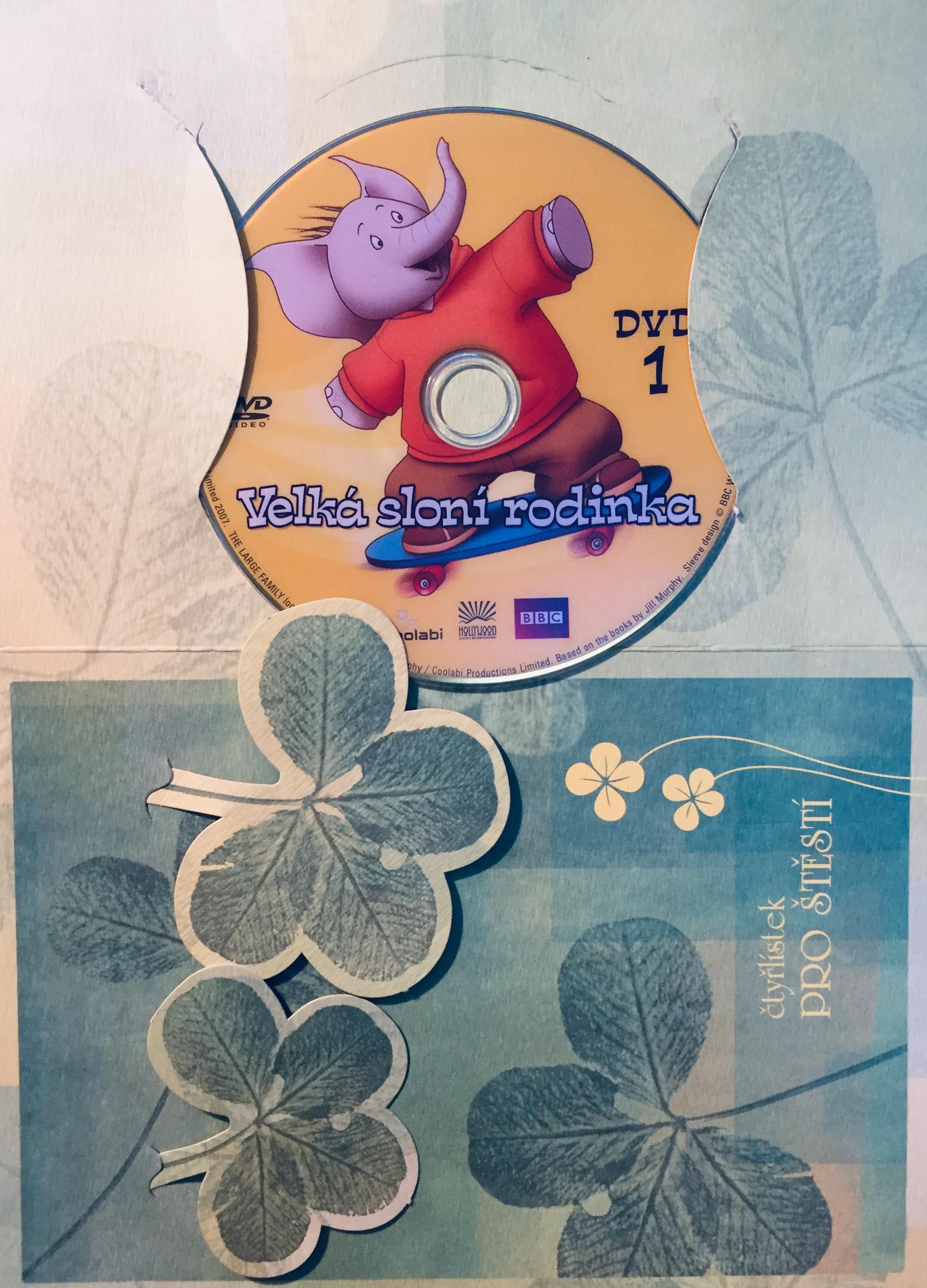 Velká sloní rodinka 1 - DVD /dárkový obal/