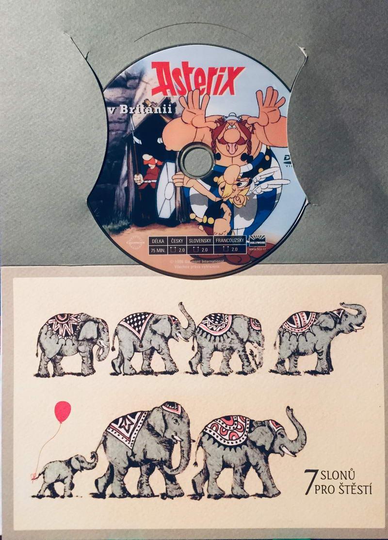 Asterix v Británii - DVD /dárkový obal/
