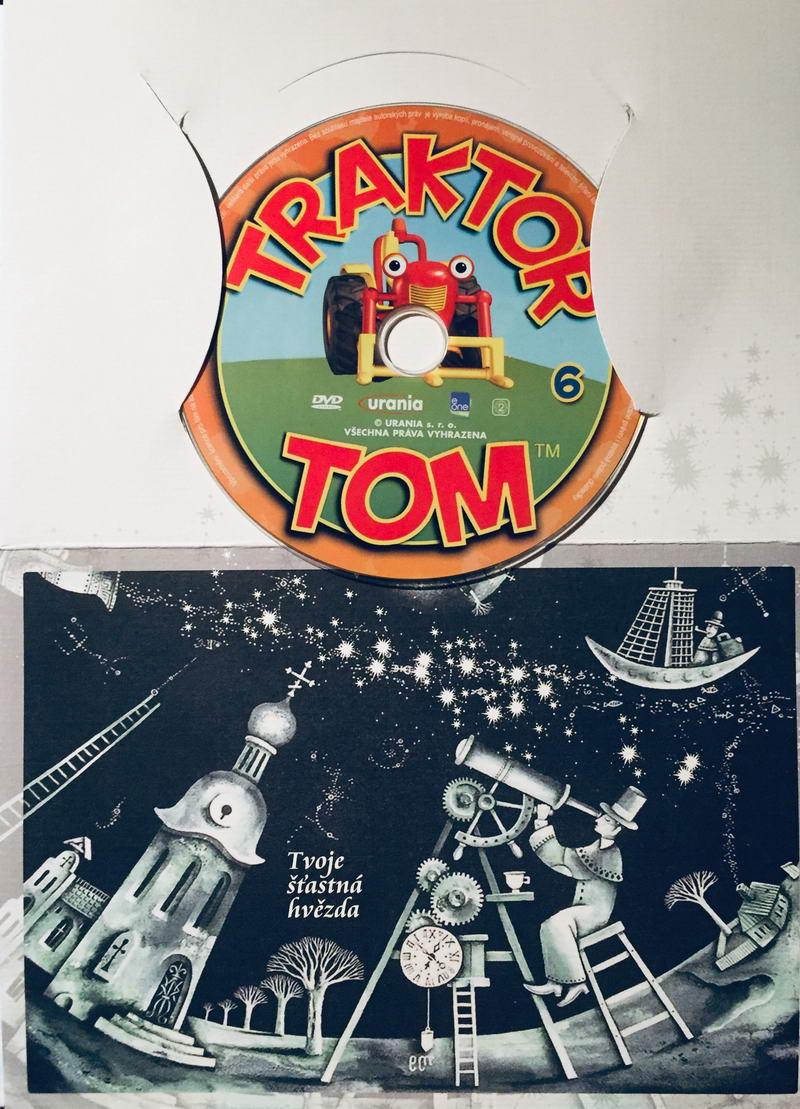 Traktor Tom 6 - DVD /dárkový obal/