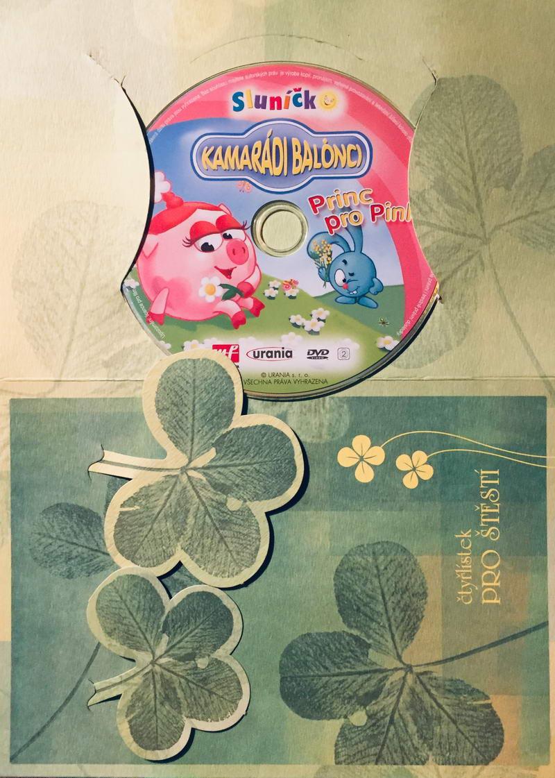 Kamarádi Balónci - Princ pro Pinky - DVD /dárkový obal/