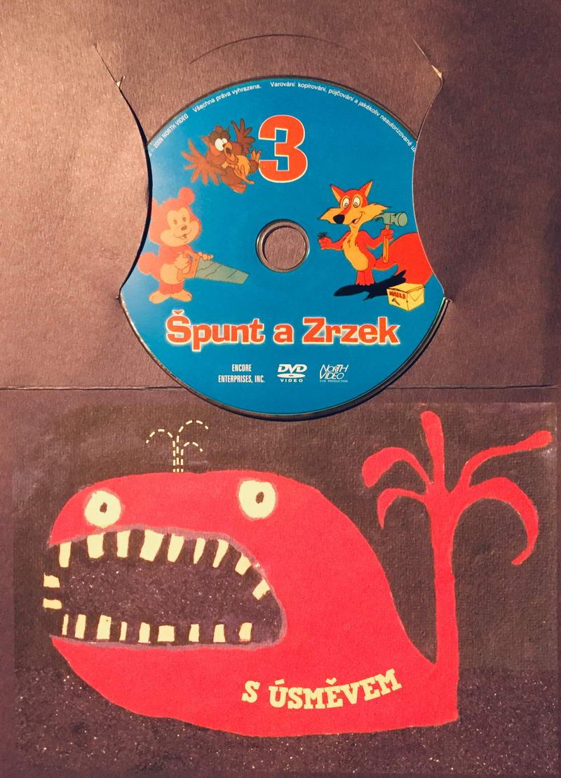 Špunt a Zrzek 3 - DVD /dárkový obal/