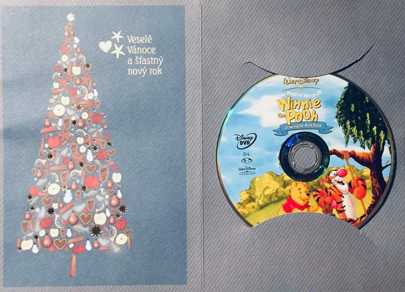 Medvídek Pú - DVD /dárkový obal/