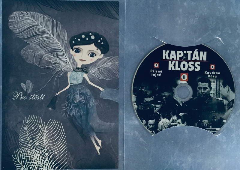 Kapitán Kloss II - 3.-4.díl - DVD /dárkový obal/