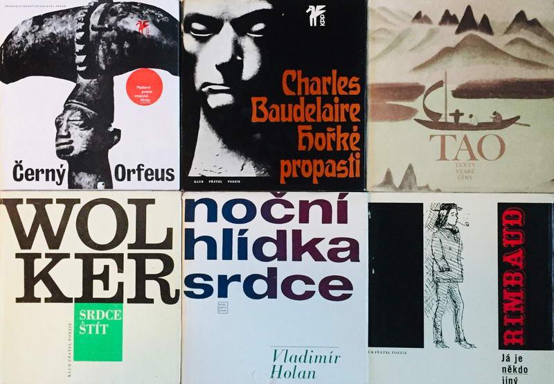 Knižní básnická kolekce I.  - 6 x kniha /bazarové zboží/
