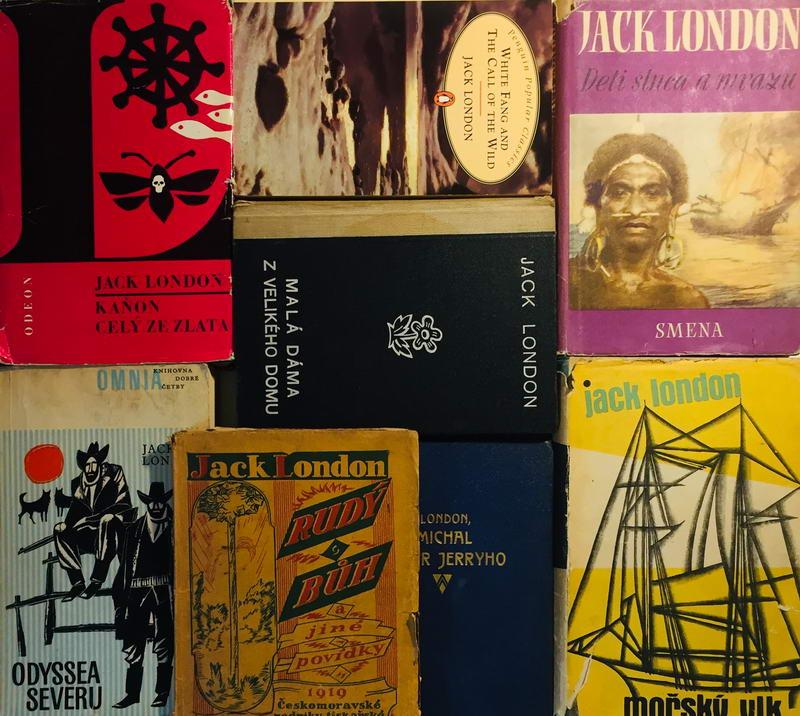 Knižní kolekce Jack London - 8 x kniha /bazarové zboží/