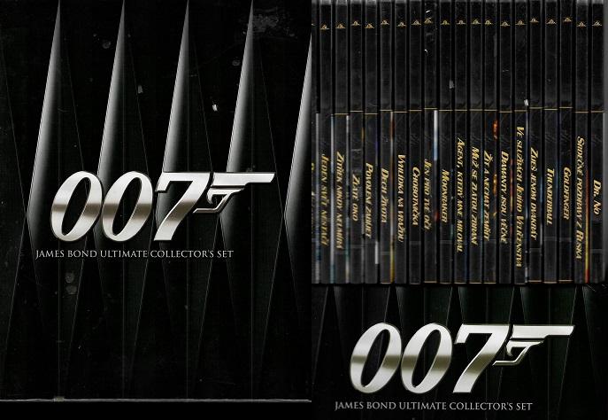 Kolekce 007 James Bond ( Ultimate collector´s set ) 20 DVD slim