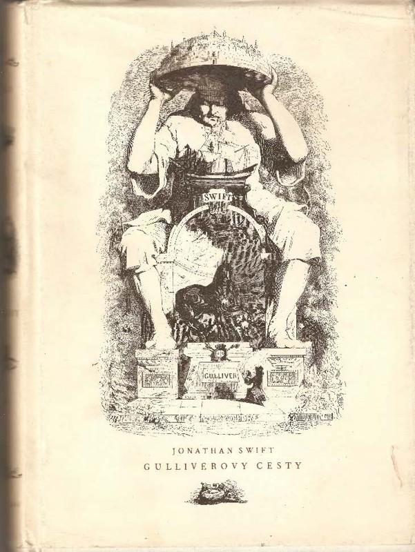Gulliverovy cesty - Jonathan Swift /bazarové zboží/