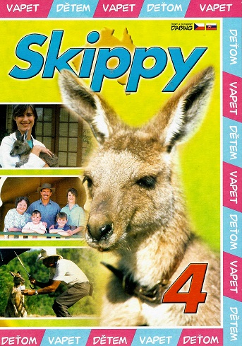 Skippy 4 ( pošetka ) DVD