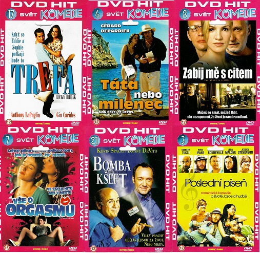 Kolekce DVD HIT Komedie - 6x DVD