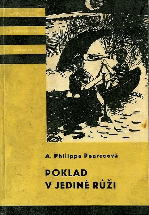 Poklad v jediné růži - A. Philippa Pearceová /bazarové zboží/