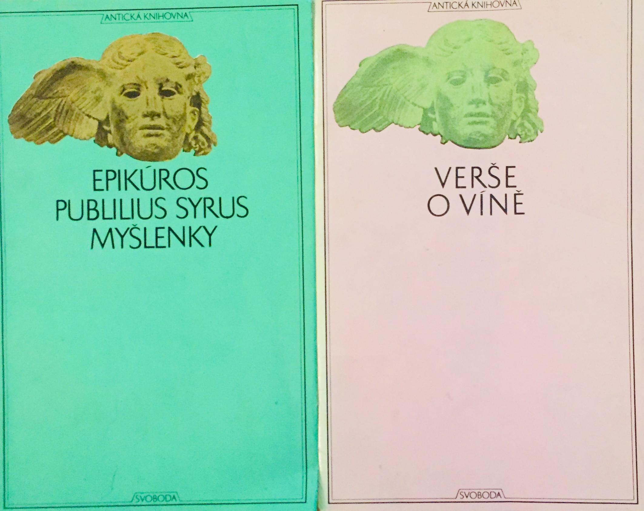Knižní básnická kolekce X. - 2 x kniha /bazarové zboží/