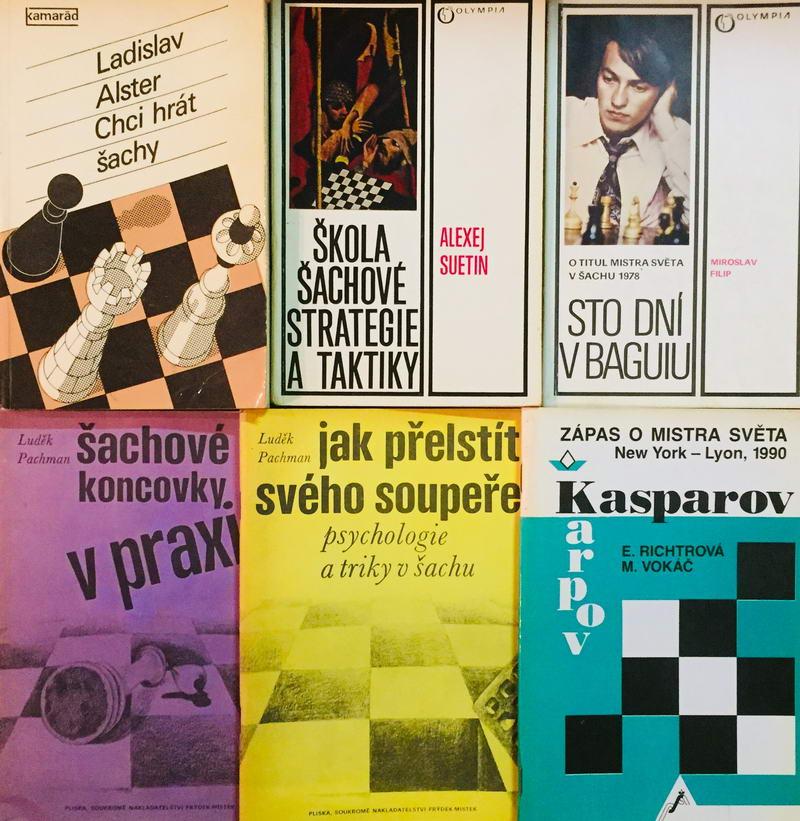 Knižní kolekce Šachová - 6 x kniha /bazarové zboží/