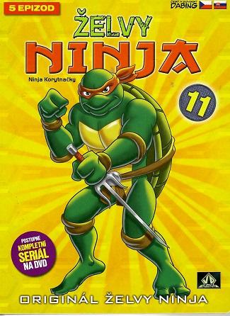 Želvy ninja 11 - VAPET - DVD digipack