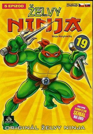 Želvy ninja 19 - VAPET ( plast ) DVD