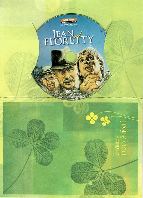 Jean od Floretty ( dárkový papír obal ) - DVD