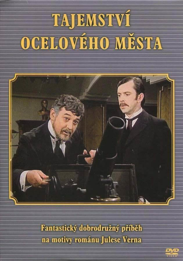 Tajemství ocelového města - DVD /plast/