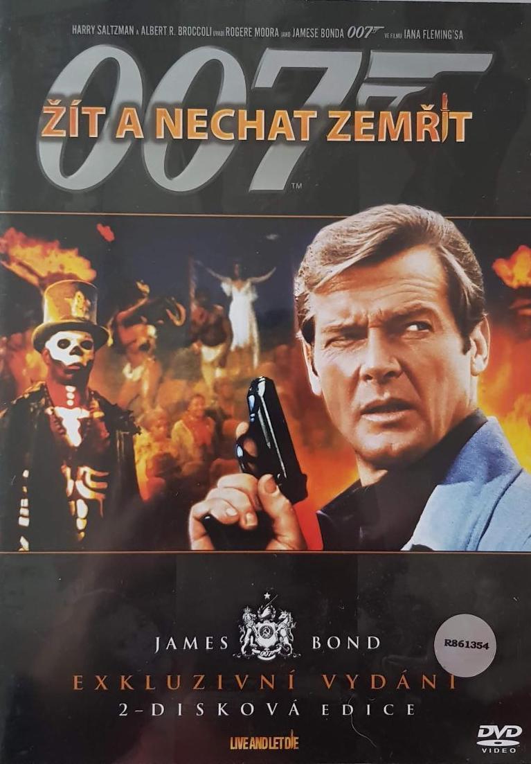 James Bond - Žít a nechat zemřít - Exkluzivní vydání 2-disková edice - DVD /plast/