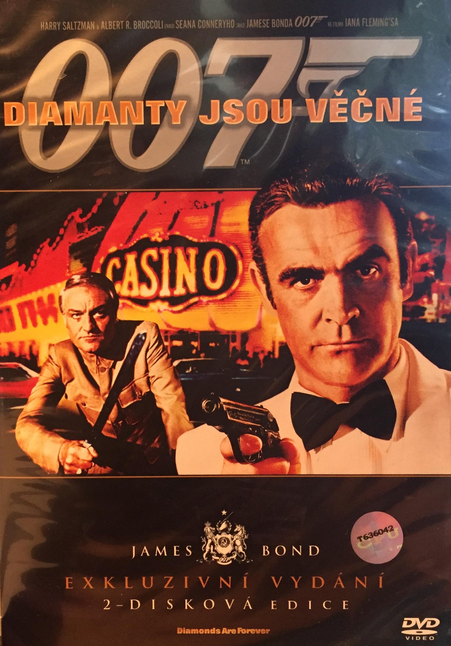 James Bond - Diamanty jsou věčné - Exkluzivní vydání 2-disková edice - DVD /plast/