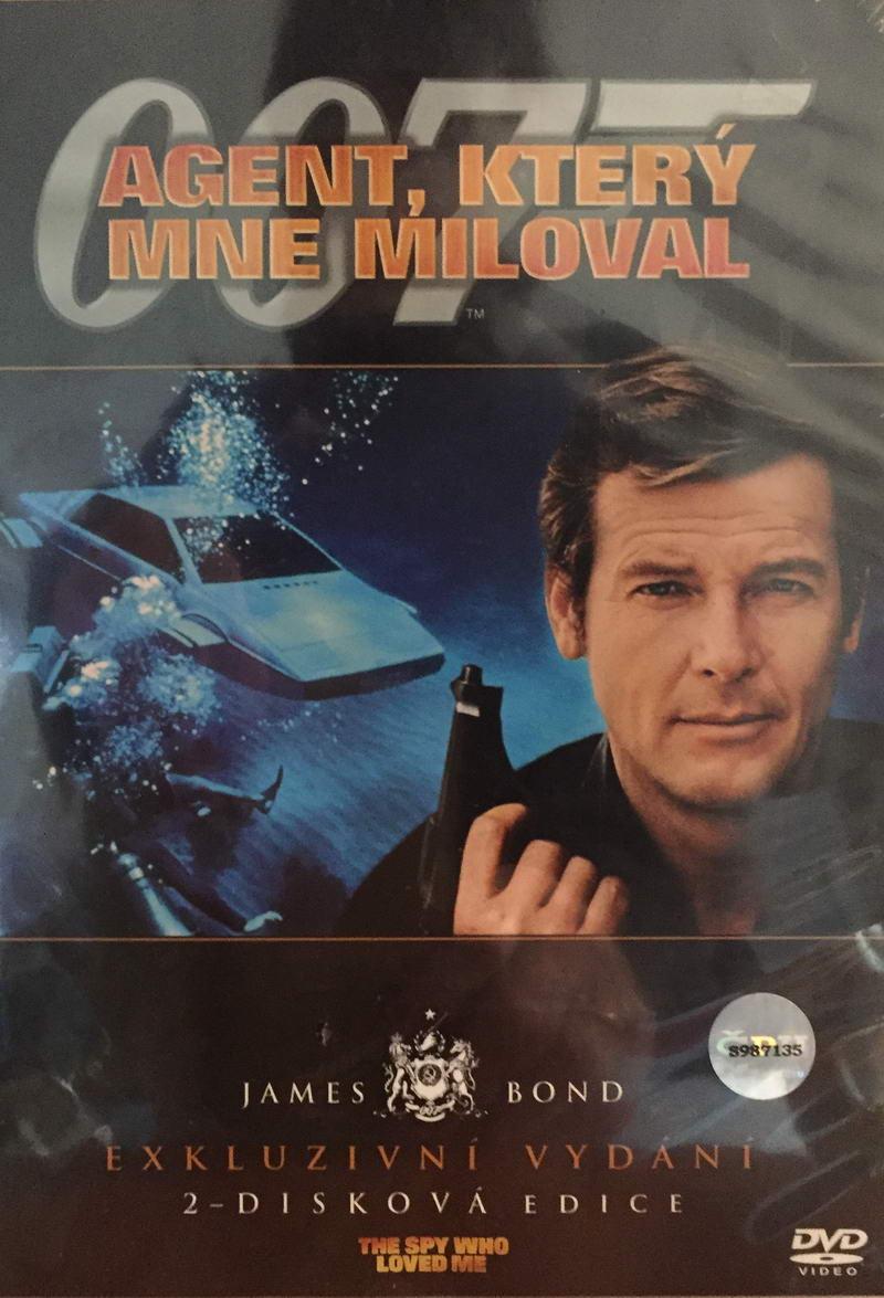 James Bond - Agent, který mne miloval - Exkluzivní vydání 2-disková edice - DVD /plast/