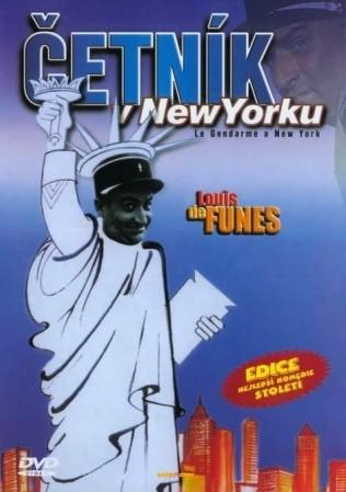 Četník v New Yorku - Edice nejlepší komedie století - DVD /plast/slim