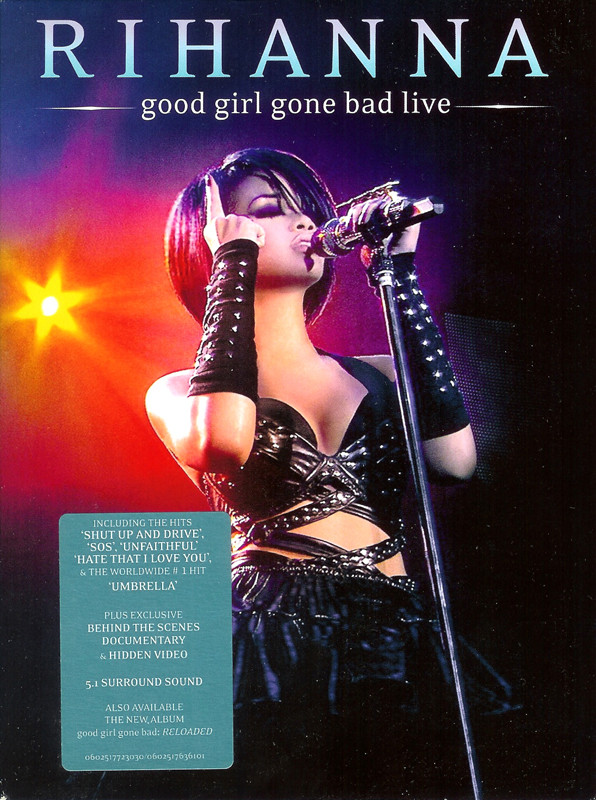 Rihanna - Good girl gone bad live - DVD /plast/