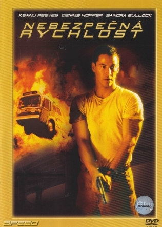Nebezpečná rychlost - DVD /plast/