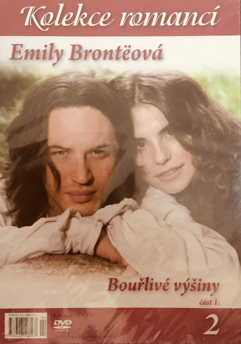 Kolekce romancí 2 - Emily Brontëová: Bouřlivé výšiny - část 1. - DVD /slim/