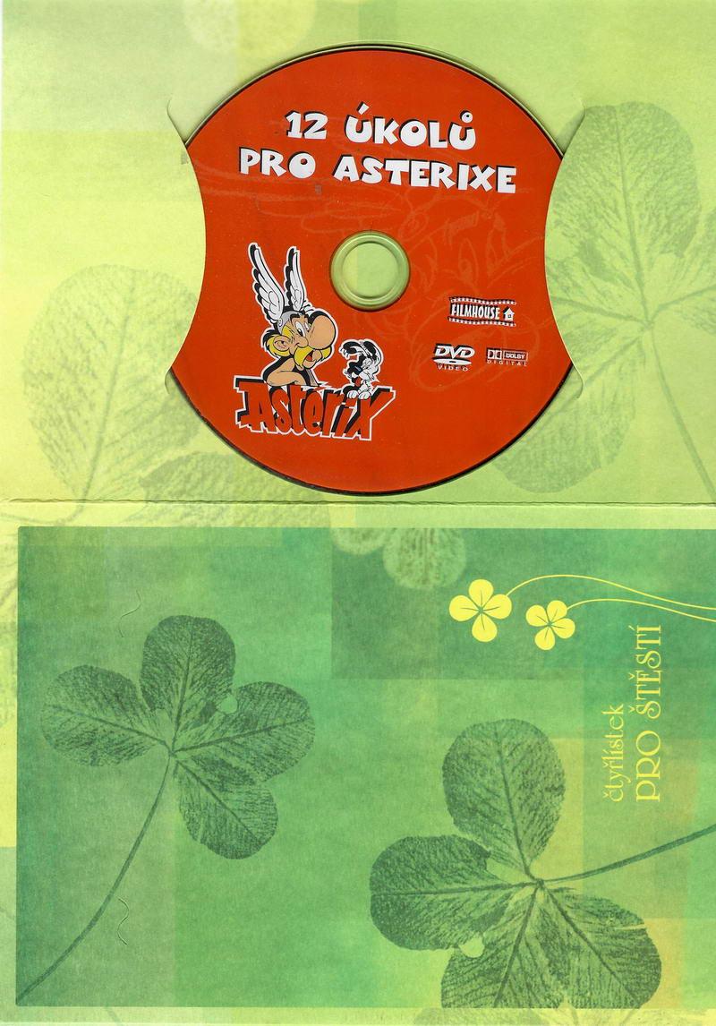 12 úkolů pro Asterixe - DVD dárková obálka