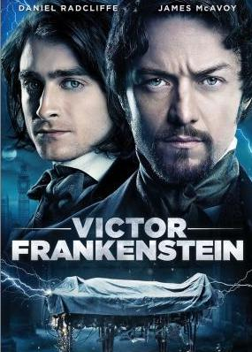 Victor Frankenstein / Viktor Frankenstein - DVD /plast/