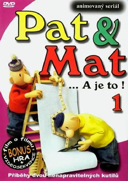 Pat & Mat... a je to! 1 - DVD /plast/