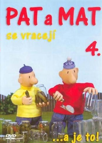 Pat a Mat se vracejí 4 - DVD /plast/
