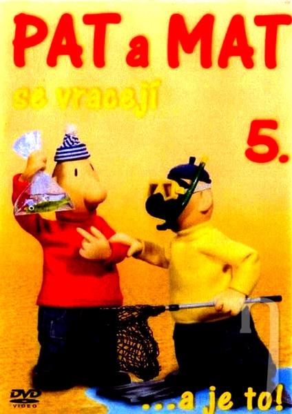 Pat a Mat se vracejí 5 - DVD /plast/