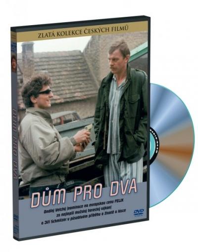 Dům pro dva - Zlatá kolekce českých filmů - DVD /plast